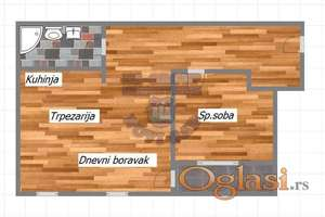 Odlican jednoiposoban stan u izgradnji na Petrovaradinu!!!021/662-0001