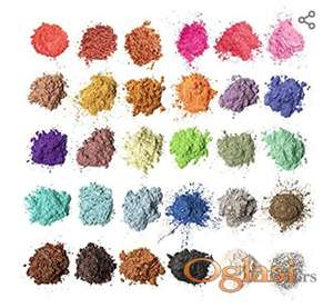 Pigmenti -30 boja- za epoksi smolu, nokte, sapune, svece, nakit