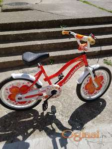 Prodajem deciji bicikli za urast od 7 do 10godina