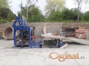Masina za presovani beton