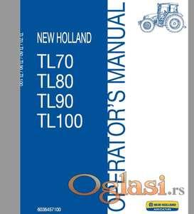 New Holland TL 70-80-90-100 Uputstvo za rukovanje i održavanje
