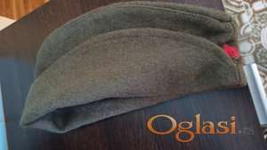 Vojnicka zimska kapa petkokraka