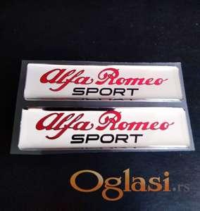 Alfa Romeo sport stiker
