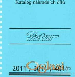 Zetor 2011-3011-4011 katalog delova