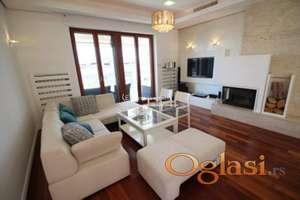 Izdavanje stanova Beograd-Dedinje-Četvorosoban lux stan, garaža, novogradnja