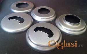 Rozetne za cevni rukohvat , metalne i aluminijumske