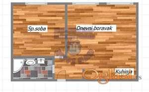 Dvosoban Petrovaradin! 021/6620-001