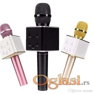 Mikrofon karaoke bluetooth Q7 mikrofon za karaoke