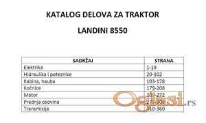 Landini 8550