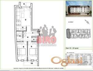 Tri sobe, dve terase, jedinstvena prilika.