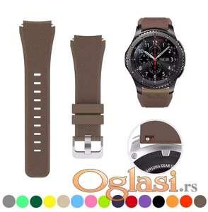 Braon narukvica silikonska Samsung galaxy watch 46 mm