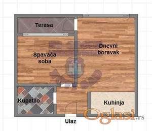 Dvosoban stan na BULEVARU (IZGRADNJA)