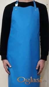 Plava gumirana kecelja