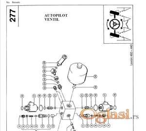 Claas Lexion 440-450-460 katalog delova
