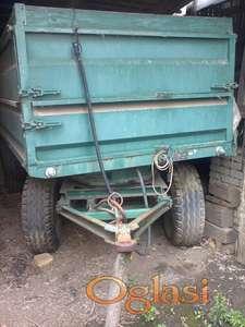 Traktorska prikolica 5t Tehnostroj kiper sa dve osovine