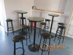 Prodajem barske stolove i stolice