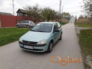 Opel Corsa C 2001. 1,7DTI reg 4.2022.