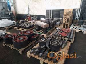 Dies for all types of pellet mills, components and spare parts of pellet mills
