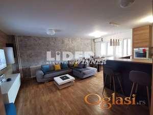 Stan na dobroj lokaciji, sa odličnim rasporedom prostorija ID#110905