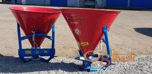 Rasipač veštačkog đubriva 500 l, plastificirani