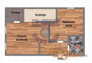 Odličan jednoiposoban stan na atraktivnoj lokaciji !!
