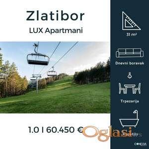 LUX Apartmani na Zlatiboru u izgradnji.