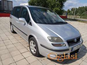 Fiat Ulysse 2.0 JTD stranac 80 KW 2004 god kao nov