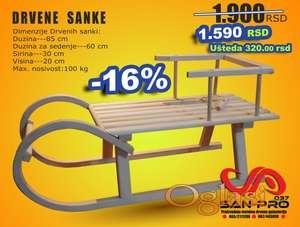 Drvene Sanke
