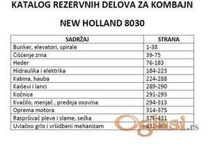 New Holland 8030 - Katalog delova