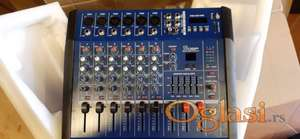 NOVO - Mixete sa snagom 2 x350w - 6 kanala - digitalni procesor