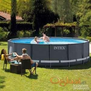 INTEX bazen 488x122 Ultra Frame model 2021