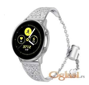 Narukvica Samsung galaxy watch r810 42mm siva cirkon