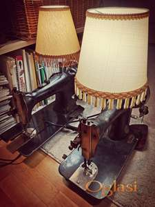 Retro lampe 2 komada