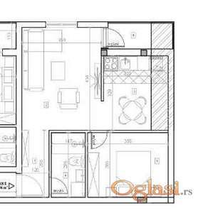 LIPOV GAJ, 45 m2, 55600 EUR
