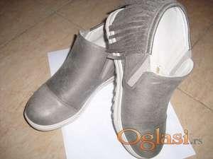 Cipele sive boje sa skrivenom petom vel 38