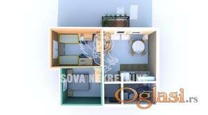 Dvosoban stan u izgradnji Kertvaroš ID#1198