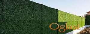 Ograda od veštačke trave