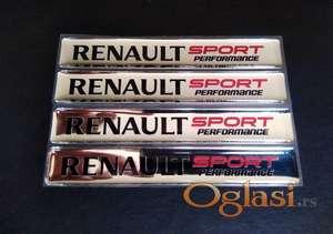 renault sport plocica stiker
