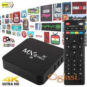 ANDROID TV BOX Smart tv box MxQ Pro 4K 5G 2g/16g Android 10