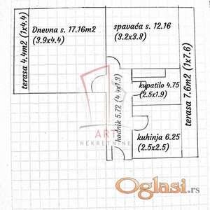 Kalvarija - Lazara Savatića 45m2 + 10m2 terasa ID#2763