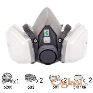 Polu gas maska 3M