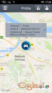 GPS Alarm sa praćenjem i kontrolom preko telefona