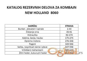 New Holland 8060 - Katalog delova