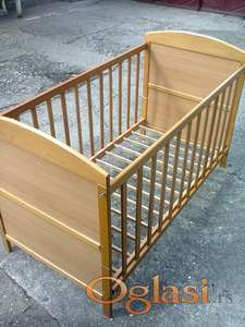 drveni krevetac za bebe - decu