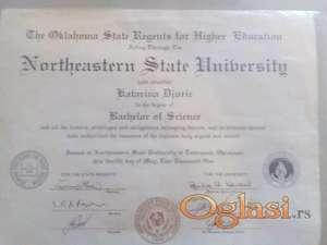 drzim casove engleskog jezika sa diplomom americkog fakulteta