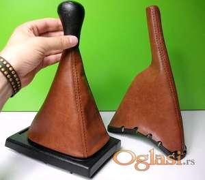 GOLF 3 kožica menjača i ručne MAHAGONI (1991-2002) NOVO