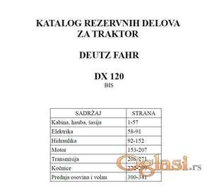 Deutz Fahr DX 120 - Katalog delova