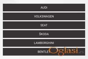 Auto kodiranje AUDI, VW, Seat, Skoda, Lamborghini, Bentley