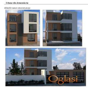 Kuća na prodaju sa projektom rekonstrukcije