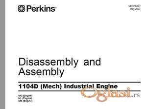 Perkins motori 1100 serija - radionički priručnici